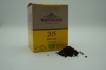Whittington Organic Bio Black Tea Lemon